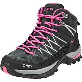CMP Campagnolo Rigel WP Mid Trekking Shoes Women grey-fuxia-ice